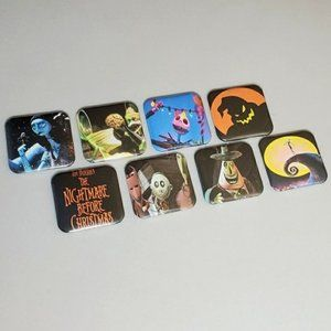 Nightmare Before Christmas Film Horror Button Pins
